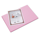 PACON CORPORATION PAC103615 Riverside Construction Paper, 76 Lbs., 12 X 18, Pink, 50 Sheets/pack
