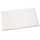 PACON CORPORATION PAC3051 Primary Chart Pad W/1in Rule, 24 X 36, White, 100 Sheets