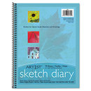 PACON CORPORATION PAC4794 Art1st Sketch Diary, 8-1/2