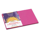 PACON CORPORATION PAC6407 Construction Paper, 58 Lbs., 12 X 18, Magenta, 50 Sheets/pack