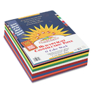 Sunworks PAC6525 Construction Paper Smart-Stack, 58 Lbs., 9 X 12, Assorted, 300 Sheets/pack