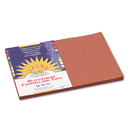 PACON CORPORATION PAC6707 Construction Paper, 58 Lbs., 12 X 18, Brown, 50 Sheets/pack