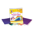 PACON CORPORATION PAC72200 Origami Paper, 30 Lbs., 9 X 9, Assorted Bright Colors, 40 Sheets/pack