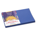 PACON CORPORATION PAC7307 Construction Paper, 58 Lbs., 12 X 18, Dark Blue, 50 Sheets/pack