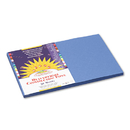 PACON CORPORATION PAC7407 Construction Paper, 58 Lbs., 12 X 18, Blue, 50 Sheets/pack