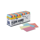 Pacon PAC74170 Blank Flash Card Dispenser Boxes, 2w X 3h, Assorted, 1000/pack