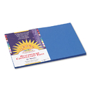 PACON CORPORATION PAC7507 Construction Paper, 58 Lbs., 12 X 18, Bright Blue, 50 Sheets/pack