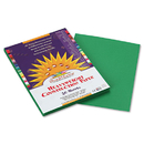 PACON CORPORATION PAC8003 Construction Paper, 58 Lbs., 9 X 12, Holiday Green, 50 Sheets/pack