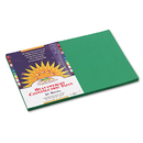PACON CORPORATION PAC8007 Construction Paper, 58 Lbs., 12 X 18, Holiday Green, 50 Sheets/pack