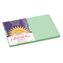 PACON CORPORATION PAC8107 Construction Paper, 58 Lbs., 12 X 18, Light Green, 50 Sheets/pack