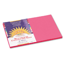 PACON CORPORATION PAC9107 Construction Paper, 58 Lbs., 12 X 18, Hot Pink, 50 Sheets/pack