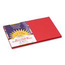PACON CORPORATION PACP6107 Construction Paper, 58 Lbs., 12 X 18, Red, 50 Sheets/pack