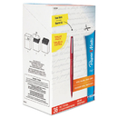 Paper Mate PAP1921091 Point Guard Flair Bullet Point Stick Pen, Red Ink, 1.4mm, 36/box