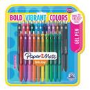 Paper Mate Liquid Paper 2062225 InkJoy Retractable Gel Pen, Medium 0.7mm, Assorted Ink/Barrel, 22/Set