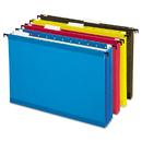 Pendaflex PFX09213 Hanging Pocket Files, 3 1/2 Inch Expansion, Letter, Assorted, 4 Per Pack