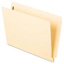 Pendaflex PFX13140 Laminated Spine End Tab Folder With 1 Fastener, 11 Pt Manila, Letter, 50/box