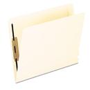 Pendaflex PFX13160 Laminated Spine End Tab Folder With 2 Fastener, 11 Pt Manila, Letter, 50/box