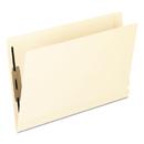 Pendaflex PFX13210 Laminated Spine End Tab Folder With 1 Fastener, 11 Pt Manila, Legal, 50/box