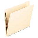 Pendaflex PFX13240 Laminated Spine End Tab Folder With 2 Fasteners, 14 Pt Manila, Letter, 50/box