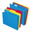 Pendaflex PFX16157 Combo Kit Hanging File Folders, 1/3 Tab, Letter, Assorted, 12 Sets/box