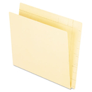 Pendaflex PFX16640 Conversion Folders, Straight Cut, Top Tab, Letter, Manila, 100/box