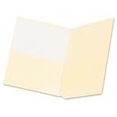 Pendaflex PFX16650 Manila End Tab Pocket Folders, Straight Tab, Two-Ply, Letter, Manila, 50/box