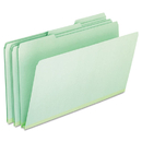 Pendaflex PFX17171 Pressboard Expanding File Folders, 1/3 Cut Top Tab, Legal, Green, 25/box