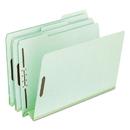 Pendaflex PFX17187 Pressboard Folders, 2 Fasteners, 3