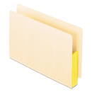 Pendaflex PFX22823 Manila Drop Front Shelf File Pockets, Straight Cut, 10 Pockets, Legal, Manila