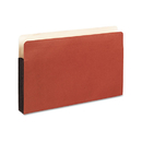 Pendaflex PFX35261 Watershed 3 In Expansion File Pockets, Straight Cut, Legal, Redrope