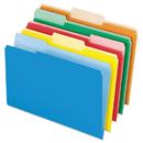 Pendaflex PFX435013ASST Interior File Folders, 1/3 Cut Top Tab, Legal, Bright Assorted, 100/box