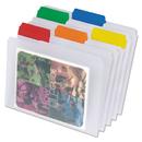 Pendaflex PFX55702 Easyview Poly File Folders, 1/3 Cut Top Tab, Letter, Clear, 25/box