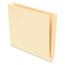 Pendaflex PFX62710 End Tab File Folders, Straight Tab, Letter, Manila, 75/box