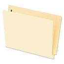 Pendaflex PFX62711 End Tab Fastener Folders, One Fastener, Letter, Manila, 50/box