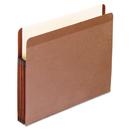 Pendaflex PFX85343 Premium Reinforced Expanding File Pockets, Straight Cut, 1 Pocket, Letter, Brown