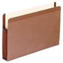 Pendaflex PFX85363 Premium Reinforced Expanding File Pockets, Straight Cut, 1 Pocket, Legal, Brown