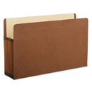 Pendaflex PFX85565 Premium Reinforced Expanding File Pockets, Straight Cut, 1 Pocket, Legal, Brown