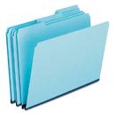 Pendaflex PFX9300T13 Pressboard Expanding File Folders, 1/3 Cut Top Tab, Legal, Blue, 25/box