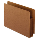 Pendaflex PFX95363 Heavy-Duty End Tab File Pockets, Straight Cut, 1 Pocket, Letter, Brown