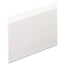 Pendaflex PFX99375 Self-Adhesive Pockets, 3 X 5, Clear Front/white Backing, 100/box