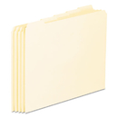 Pendaflex PFXEN205 Top Tab File Guides, Blank, 1/5 Tab, 18 Point Manila, Letter, 100/box