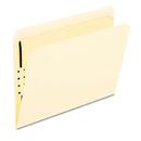 Pendaflex PFXFM211 Fastener Folders, 1 Fastener, Straight Tab, Letter, Manila, 50/box