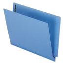 Pendaflex PFXH10U13BL Reinforced End Tab Expansion Folder, Two Fasteners, Letter, Blue, 50/box