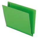 Pendaflex PFXH10U13GR Reinforced End Tab Expansion Folders, Two Fasteners, Letter, Green, 50/box
