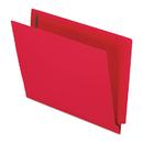 Pendaflex PFXH10U13R Reinforced End Tab Expansion Folder, Two Fasteners, Letter, Red, 50/box
