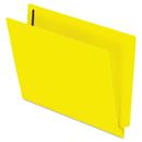 Pendaflex PFXH10U13Y Reinforced End Tab Expansion Folders, Two Fasteners, Letter, Yellow, 50/box