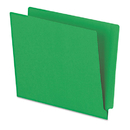 Pendaflex PFXH110DGR Reinforced End Tab Folders, Two Ply Tab, Letter, Green, 100/box
