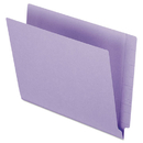 Pendaflex PFXH110DPR Reinforced End Tab Folders, Two Ply Tab, Letter, Purple, 100/box