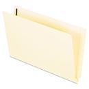Pendaflex PFXH20U13 End Tab Expansion Folders, Two Fasteners, Straight Cut, Legal, Manila, 50/box
