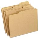 Pendaflex PFXRK15213 Two-Ply Dark Kraft File Folders, 1/3 Cut Top Tab, Letter, Brown, 100/box